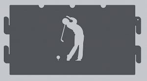 Golf Fire Ring Panel